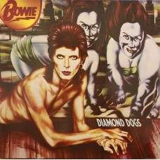 DAVID BOWIE - DIAMOND DOGS - LP UK 1974 - EXCELLENT-