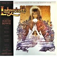 DAVID BOWIE - LABYRINTH - SOUNDTRACK - LP 1986 - EXCELLENT