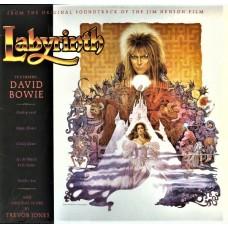 DAVID BOWIE - LABYRINTH - SOUNDTRACK - LP UK 1986 - EXCELLENT