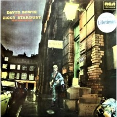 DAVID BOWIE - THE RISE AND FALL OF ZIGGY STARDUST AND THE SPIDERS FROM MARS - LP UK 1980 - LIFETIMES - NEAR MINT
