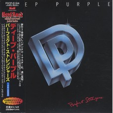 DEEP PURPLE - PERFECT STRANGER - CD JAPAN 1998 - LP REPLICA - NEAR MINT