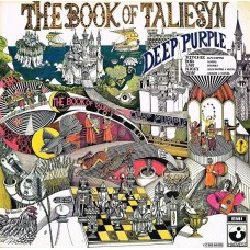 DEEP PURPLE - THE BOOK OF TALIESYN - LP 1973 - EXCELLENT