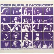 DEEP PURPLE - IN CONCERT - LP UK 1980 - EXCELLENT