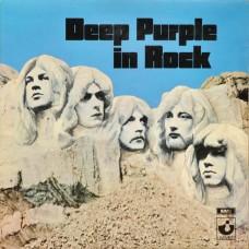 DEEP PURPLE - IN ROCK - LP UK 1970 - EXCELLENT