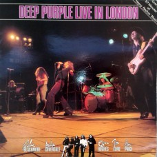 DEEP PURPLE - LIVE IN LONDON - LP UK 1982 - EXCELLENT-
