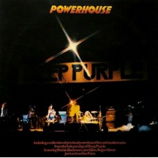 DEEP PURPLE - POWERHOUSE - LP UK 1977 - EXCELLENT