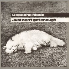 """DEPECHE MODE - JUST CAN'T GET ENOUGH - 7"""" UK 1981 - EXCELLENT+"""