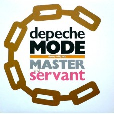 "DEPECHE MODE - MASTER AND SERVANT (SLAVERY WHIP MIX) - 12"" UK - EXCELLENT"