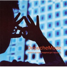 """DEPECHE MODE - WORLD IN MY EYES - 7"""" UK 1990 - NEAR MINT"""