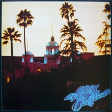 EAGLES - HOTEL CALIFORNIA - LP 1976 - COMPLETE WITH POSTER - NEAR MINT