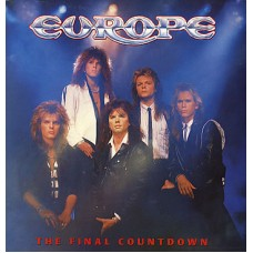 EUROPE - THE FINAL COUNTDOWN - LP UK 1986 - LIMITED WITH POSTER - EXCELLENT+