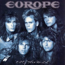 EUROPE - OUT OF THIS WORLD - LP UK 1988 - LIMITED EDITION RED VINYL - EXCELLENT