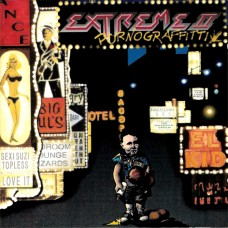 EXTREME - PORNOGRAFFITTI - LP UK 1990 - ORIGINAL - EXCELLENT++