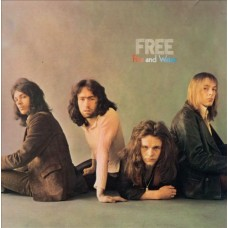 FREE - FIRE AND WATER - LP UK 1976 - NEAR MINT