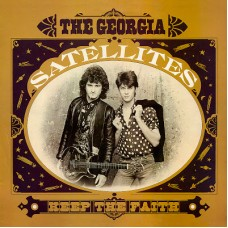 GEORGIA SATELLITES - KEEP THE FAITH - LP UK 1985 - NEAR MINT