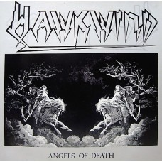 HAWKWIND - ANGELS OF DEATH - LP UK 1986 - EXCELLENT++