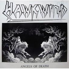 HAWKWIND - ANGELS OF DEATH - LP UK 1986 - NEAR MINT