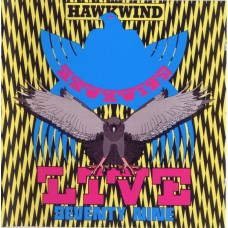 HAWKWIND - LIVE SEVENTY NINE - LP UK 1980 - NEAR MINT