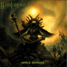 HAWKWIND - SPACE BANDIT - LP UK 1990 - EXCELLENT++