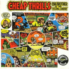BIG BROTHER & THE HOLDING COMPANY - CHEAP THRILLS - LP - EXCELLENT+