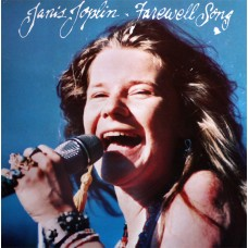 JANIS JOPLIN - FAREWELL SONG - LP UK 1982 - NEAR MINT