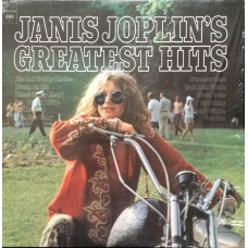 JANIS JOPLIN - GREATEST HITS - LP UK - EXCELLENT+