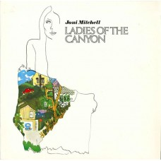 JONI MITCHELL - LADIES OF THE CANYON - LP - EXCELLENT+