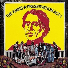 KINKS - PRESERVATION ACT 1 - LP UK 1973 - EXCELLENT