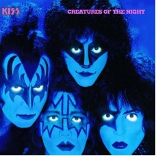 KISS - CREATURES OF THE NIGHT - LP UK 1982 - EXCELLENT