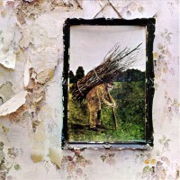 LED ZEPPELIN - IV - LP UK 1971 - RED / PLUM LABELS - EXCELLENT+