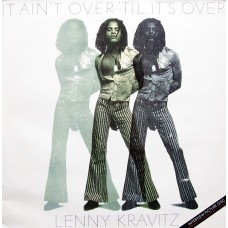 "LENNY KRAVITZ - IT AIN'T OVER 'TIL IT'S OVER - 12"" UK 1991 - PICTURE DISC - EXCELLENT"