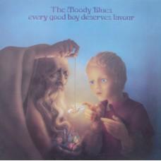 MOODY BLUES - EVERY GOOD BOY DESERVES FAVOUR -  LP UK 1971 - EXCELLENT