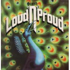 NAZARETH - LOUD 'N' PROUD - LP UK 1985 - EXCELLENT