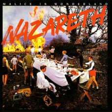 NAZARETH - MALICE IN WONDERLAND - LP UK - EXCELLENT+