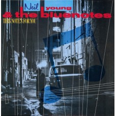 NEIL YOUNG & THE BLUENOTES - THIS NOT'S FOR YOU - LP 1989 - EXCELLENT+