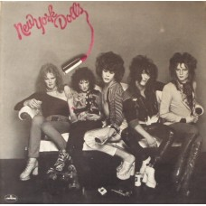 NEW YORK DOLLS - NEW YORK DOLLS - LP  - EXCELLENT+
