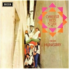 OMEGA RED STAR - FROM HUNGARY - LP UK 1968 - MONO - VERY RARE - EXCELLENT+