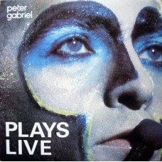 PETER GABRIEL - PLAYS LIVE - 2LP UK 1983 - NEAR MINT