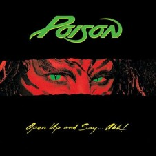 POISON - OPEN UP AND SAY... AHH! - LP UK 1988 - NEAR MINT