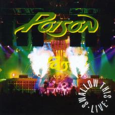 POISON - SWALLOW THIS LIVE - LP UK 1991 - EXCELLENT+