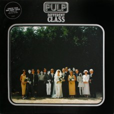 PULP - DIFFERENT CLASS - LP UK 1995 - LIMITED EDITION APERTURE SLEEVE - EXCELLENT