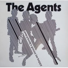 AGENTS - EVERYBODY'S GONNA BE HAPPY - LP 1981 - EXCELLENT