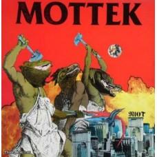 MOTTEK - RIOT - LP 1986 - LIMITED ON GREY VINYL - EXCELLENT+