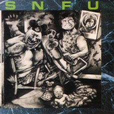 SNFU - BETTER THAN A STICK IN THE EYE - LP UK 1988 - EXCELLENT+