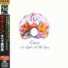 QUEEN - A NIGHT AT THE OPERA - CD JAPAN 1998 - LP REPLICA - MINT