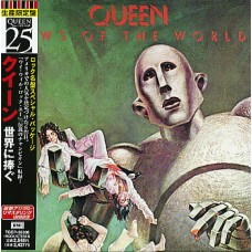 QUEEN - NEWS OF THE WORLD - CD JAPAN 1998 - LP REPLICA - MINT