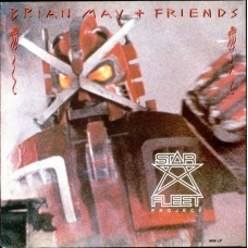 BRIAN MAY + FRIENDS - STAR FLEET PROJECT - MINI ALBUM - UK 1983 - EXCELLENT+
