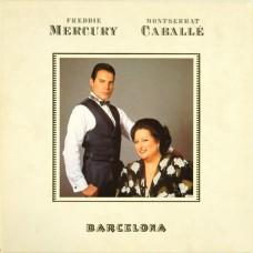 FREDDIE MERCURY - BARCELONA - LP UK 1988 - ORIGINAL - EXCELLENT