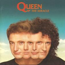 QUEEN - THE MIRACLE - LP UK 1989  - EXCELLENT++