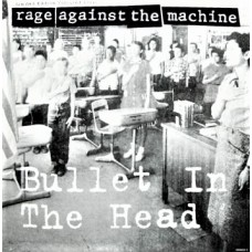 "RAGE AGAINST THE MACHINE - BULLET IN THE HEAD - 12"" UK 1993 - PICTURE DISC - NEAR MINT"